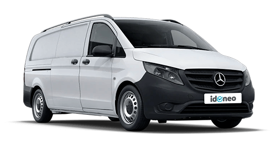 Mercedes Benz Vito blanco