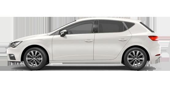 Seat León blanco