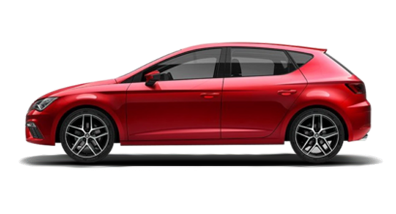 Seat León rojo
