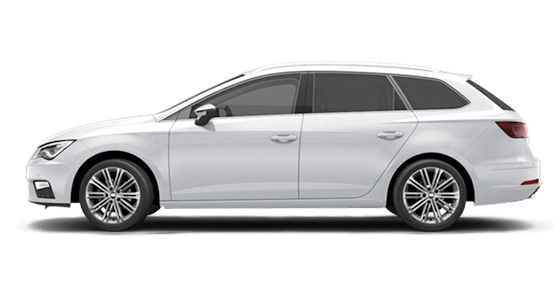 Seat León ST blanco