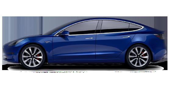Tesla LONG RANGE PERFORMANCE AWD 4 PUERTAS SEDÁN de renting