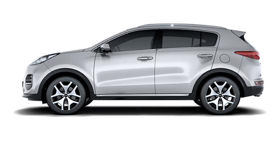 Kia 1.6 CRDI 100kW 4WD de renting
