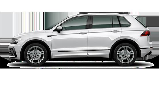 Volkswagen Tiguan blanco