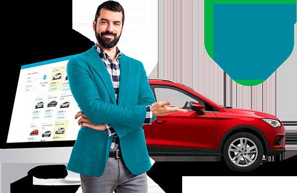 Comparador de coches nuevos y de renting