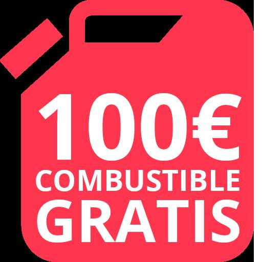 100€ de combustible gratis