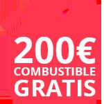 200€ de combustible gratis