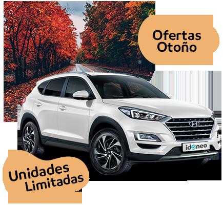 Ofertas Hyundai de renting SOLO en Septiembre