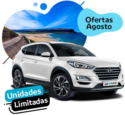Ofertas Hyundai de renting SOLO en Agosto